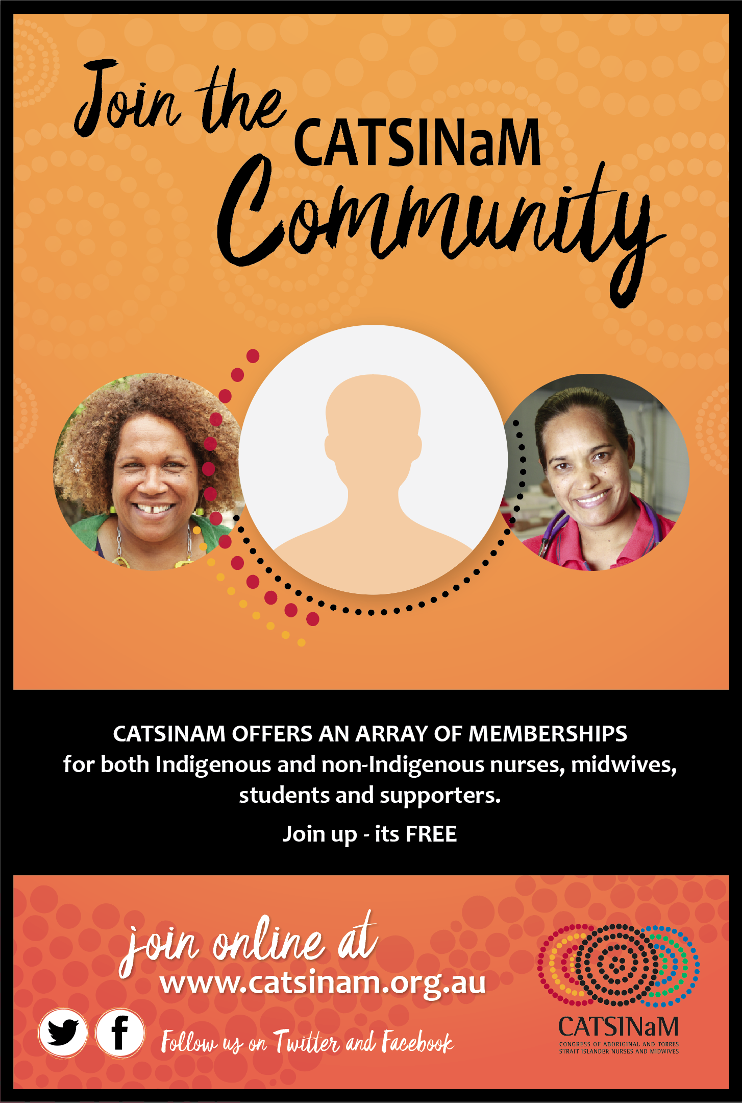Information on joining the CATSINaM community