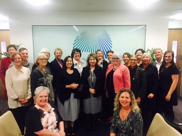 Members of the NMBA with the Australian and New Zealand Council of Chief Nursing and Midwifery Officers