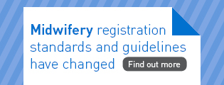 Midwifery registration standards are changing - find out more