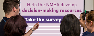 Help the NMBA develop decision-making resources - Take the survey